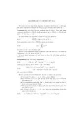 Math 506 Algebraic Closure Notes
