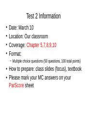 Test2 Review