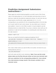 Prediction Assignment Submission- Instructions