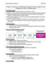 Marketing Chapter 2 PPT Notes.docx