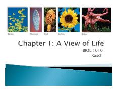 BIOL 1010 Chapter 01 A View of Life students (1)