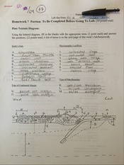GEOL 101 Homework 7 Portion Before Lab
