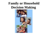 Family or Household decision making.ppt