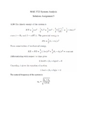 Solutions Assignment 5