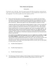 Week 4 Exam Questions (1)