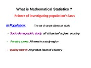 StatisticsLecture1