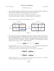 Game Theory problems and solutions.pdf