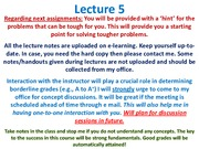 MTE 455 Lecture 5