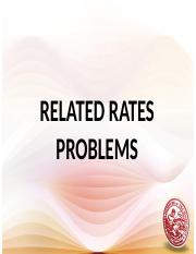 21 Related Rates Problem