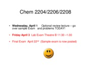 2009Final Exam Review 2204