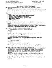MSL401_L03a_Effective_Writing_for_Officers_Quiz_Answer_Key