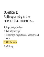 Quiz Answers 1-10