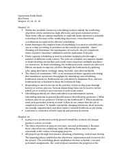 Operations Final Key Points Study Guide.docx