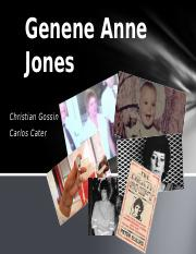 Genene Jones Orta Presentation