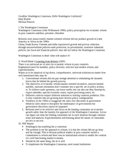 Goodbye Washington Consensus