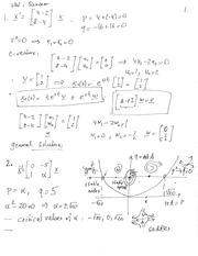 MATH 3650 Midterm Exam Review Notes