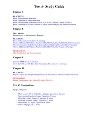 Test #4 study guide Fall 2014