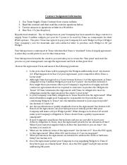 SCM 4312 Contract assignment (1).docx