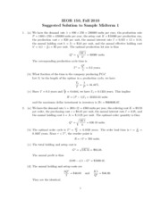 IEOR150F10_SampleMidterm1_Solution