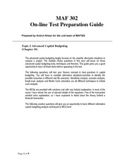 First 0n-line test Preparation- Topic 2-Answers