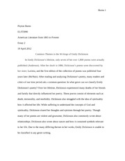 Emily dickinson research paper, Essay on customer service