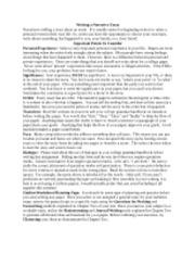 How do I write a personal narrative essay?