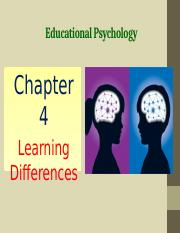 Chapter 4 Learning Differences.pptx