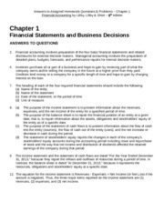 Answers to Assigned Homework - Chapter 1 -- 8th ed Libby Libby.docx