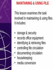 4-IMR504-Maintain Use File.ppt