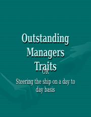 Outstanding Managers6