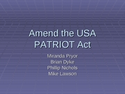 Case study: How the USA PATRIOT Act can be used to access EU data