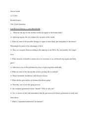 unit 2 lab questions Sch3u - 11u chemistry unit 2 - nomenclature and chemical reactions 04 review questions: grade 11 chemistry exam review final-cedarbraepdf.