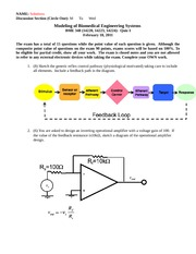 BME348_Exam I_Solutions_2011