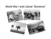 Lecture 5 World War I and Liberal Solutions pdf version