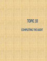 GS PPT Topic 10 Completing the audit.pptx
