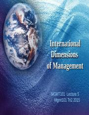 MGMT101 L5 28 July 15 International Dimensions of Management bb.pptx