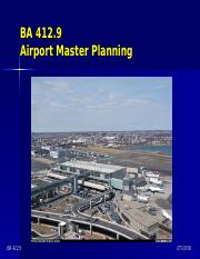 BA 412.9 - Master Planning (Forecasts).ppt