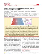 Thermal Conductivity of Graphene and Graphite- Collective%0AExcitations and Mean Free Paths.pdf
