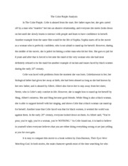 the sake gogol essay gogols gogol ganguli one of  2 pages the color purple analysis