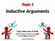 CT-05- Inductive Arguments