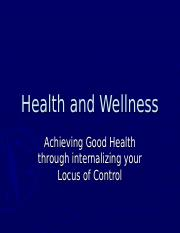 Health and Wellness.ppt