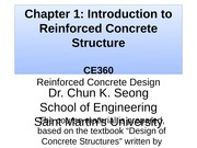 CE360-Chapter 1 - Introduction