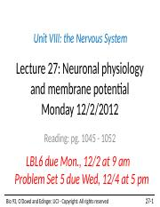 Lecture+27+Neuronal+physiology+2013+student.pptx