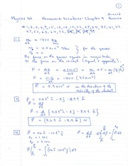 Physics 3A Homework Solutions Chapter 9