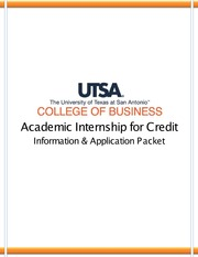 CollegeofBusinessInternshipPacket