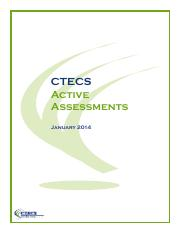 active assessments