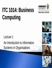 Lecture 1_ITC1014 Intro to IS.ppt