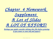 Supplement Homework CVP 4 ACCT 210