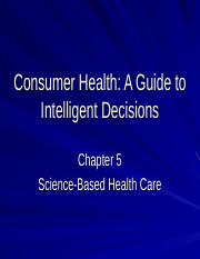 Consumer Health-Chap.5.ppt