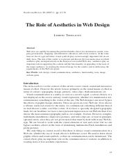 The_Role_of_Aesthetics_in_Web_Design